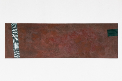 Gudrun Klebeck, Brown Horizontal, 2000