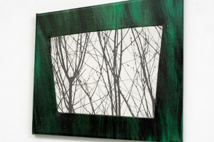 Gudrun Klebeck, View from the Dark III, 2013