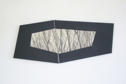 Gudrun Klebeck, View from the Dark II, 2013