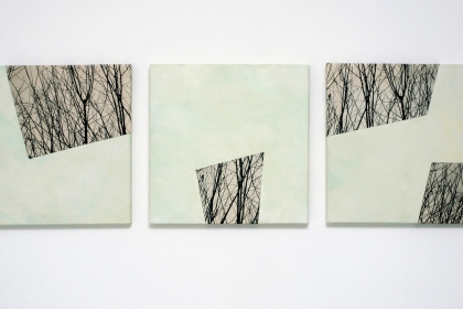 Gudrun Klebeck, Baum Aspekte VI, V, III, 2011