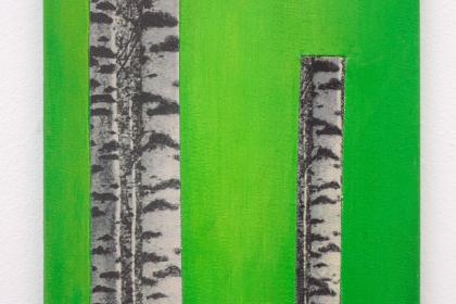 Gudrun Klebeck, Birch Trees VIII, 2011