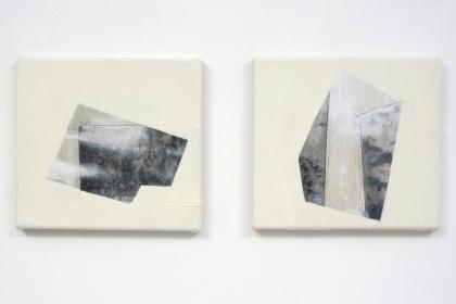 Gudrun Klebeck,Untitled I, II, 2013