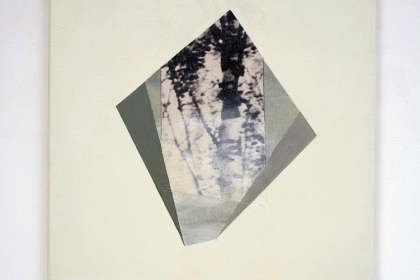 Gudrun Klebeck, Birch Trees Bright I, 2013