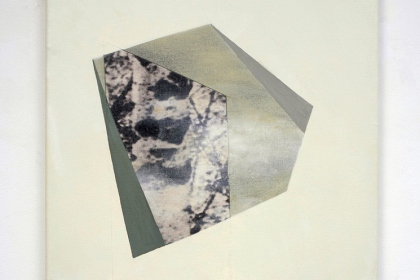 Gudrun Klebeck, Birch Trees Bright II, 2013