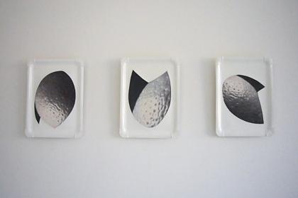 Gudrun Klebeck, Planet Orange I - III, 2009