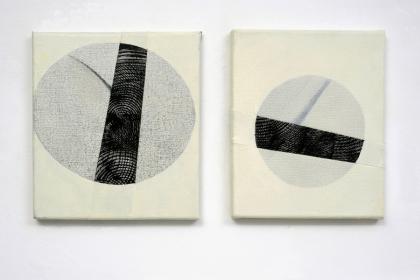 Gudrun Klebeck, Elliptical VII, VIII, 2013