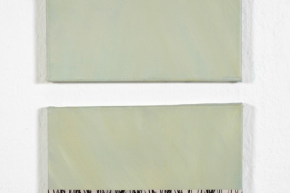 Gudrun Klebeck, Gras I, II, 2010