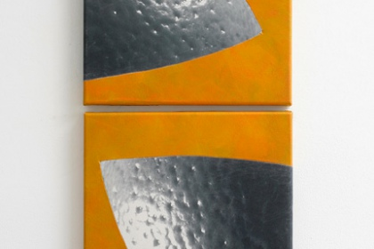 Gudrun Klebeck, Orange VII, 2014