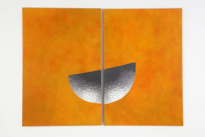 Gudrun Klebeck, Orange Haut II, 2009