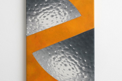Gudrun Klebeck, Orange IX, 2014