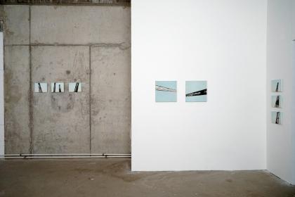 Gudrun Klebeck, Exhibit detail MOVE, Quartier am Hafen, Cologne 2019