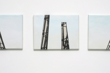 Gudrun Klebeck, Stahl VIII - X, 2011