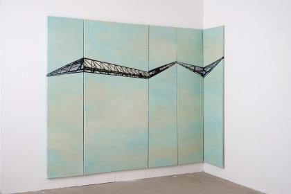 Gudrun Klebeck, Stahl Konstruktion I, 2019
